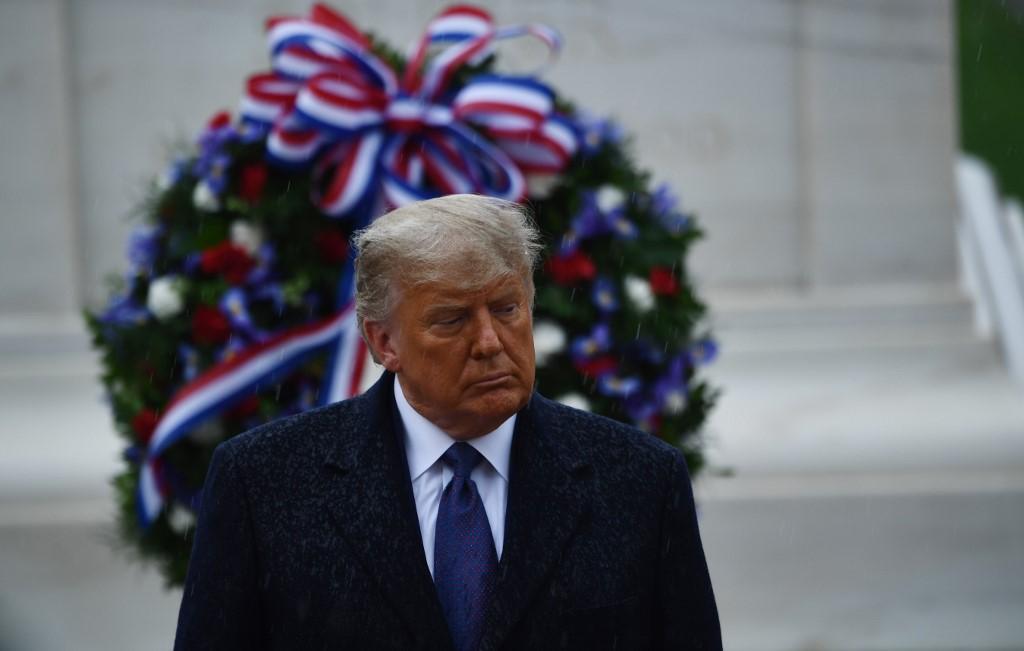 Trump conmemora el Día de los Veteranos 2020