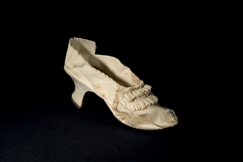 Zapato de la reina María Antonieta