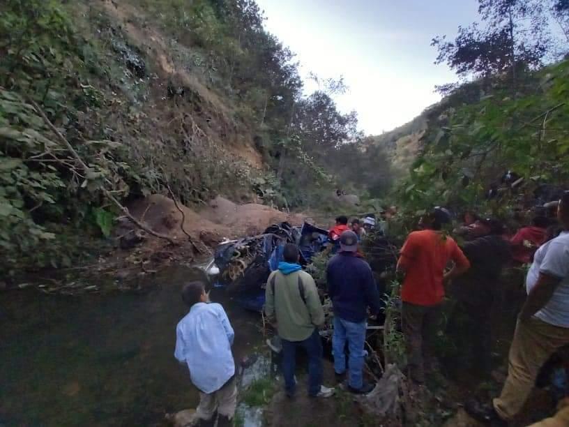 Accidente de tránsito en Tajumulco, en San Marcos.