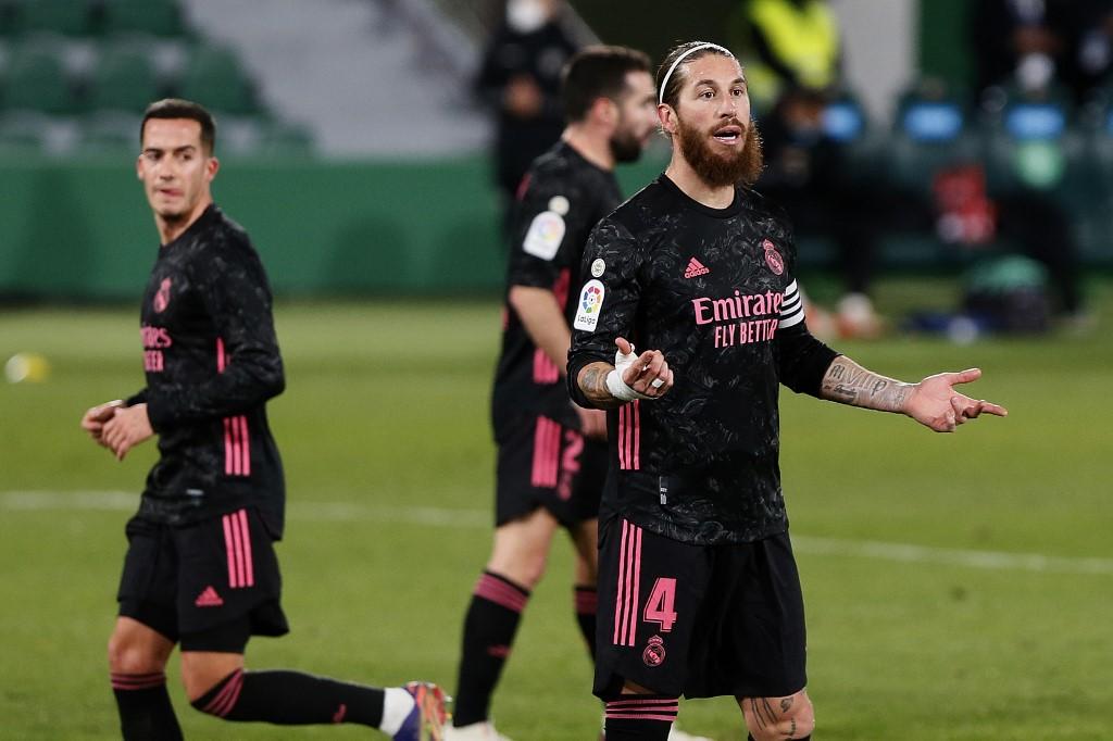 El Real Madrid empata frente al Elche