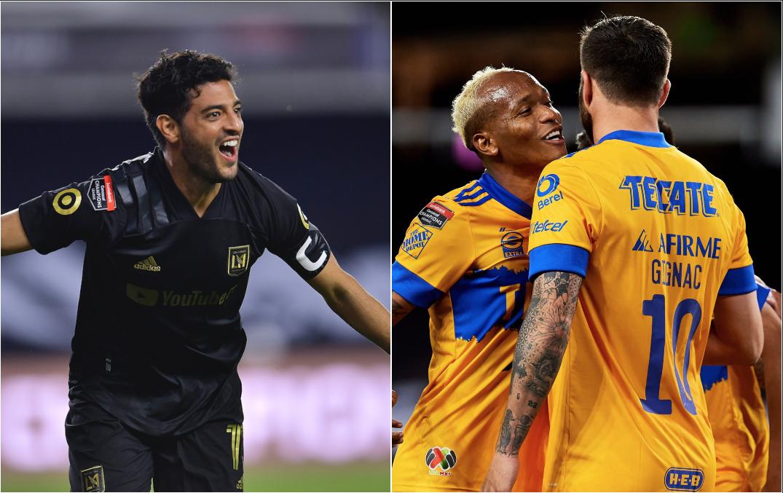 Los Angeles y Tigres disputarán la final de la Concachampions