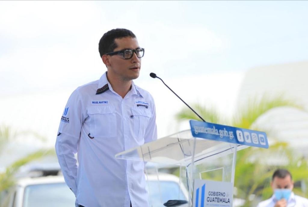 Luis Miguel Martínez, jefe del Centro de Gobierno.