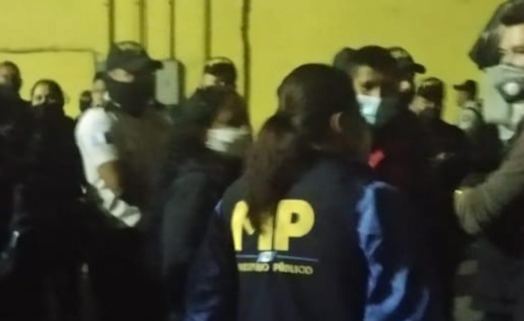 MP desarrolla operativo contra el femicidio.