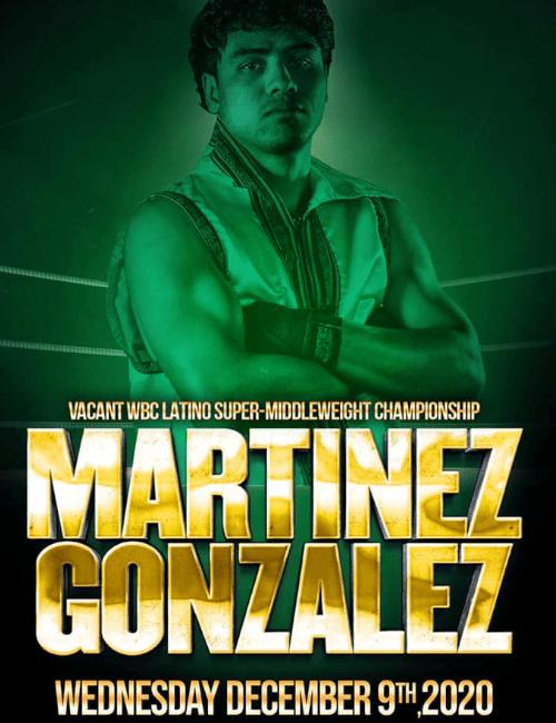 Lester Martínez peleará con Uriel González