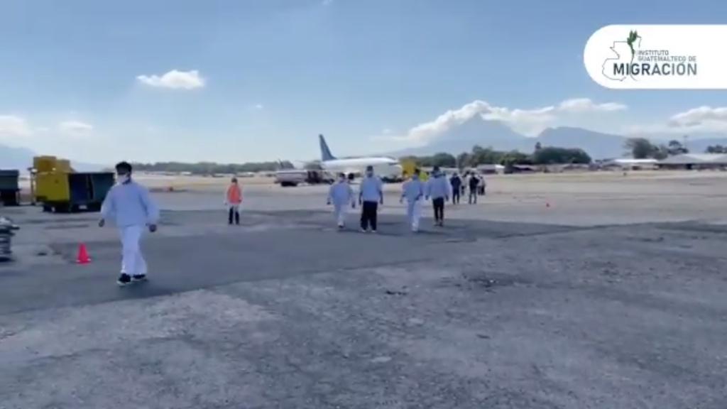Más de 21 mil guatemaltecos retornados de manera forzosa desde EE. UU. en 2020.