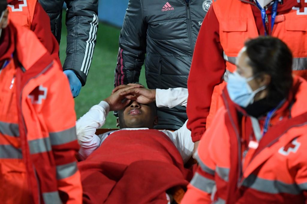 Rodrygo sufre lesión muscular