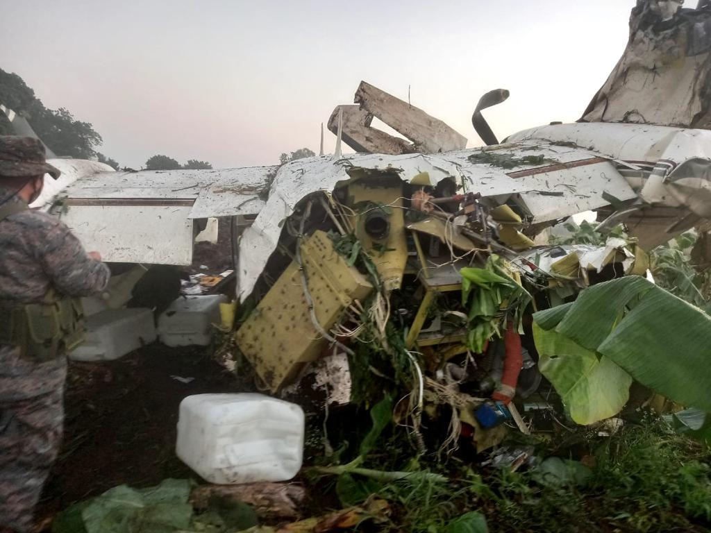 localizan aeronave en Suchitepéquez