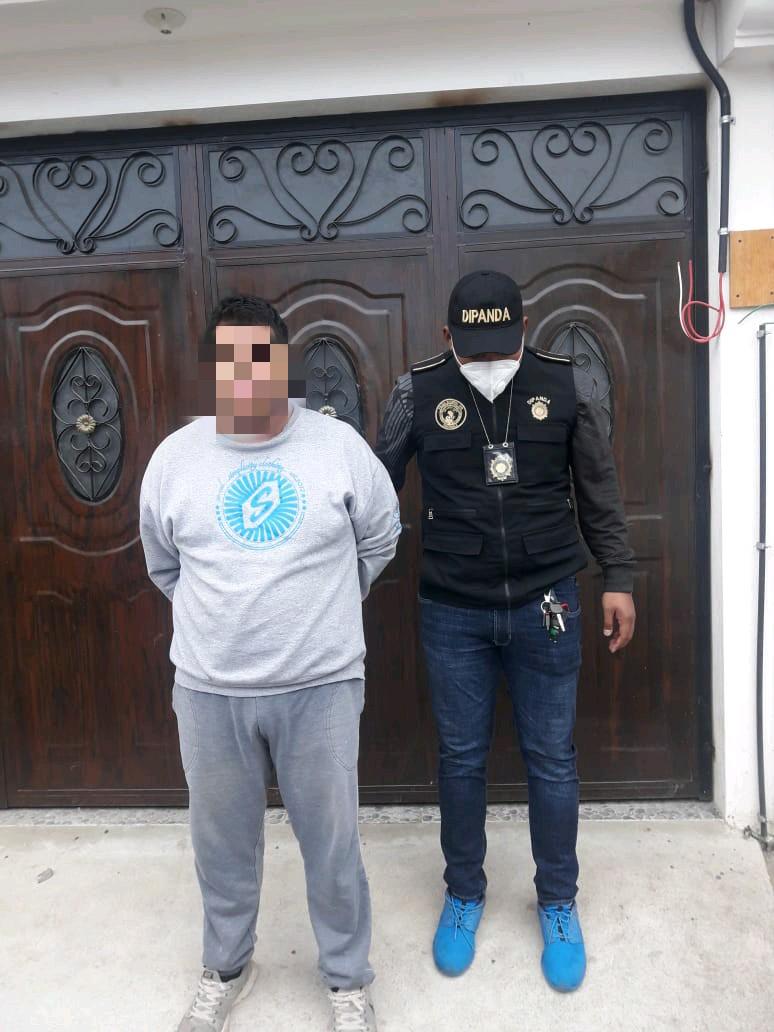 allanamientos contra extorsiones en Quetzaltenango