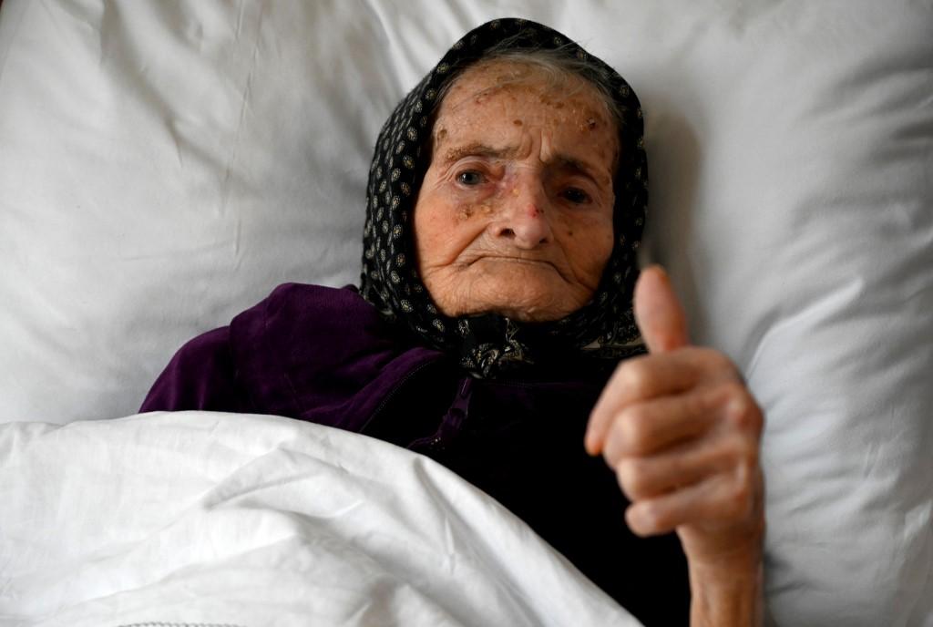 Margareta Kranjcec, ancianita de 99 años, sobrevive al Covid-19