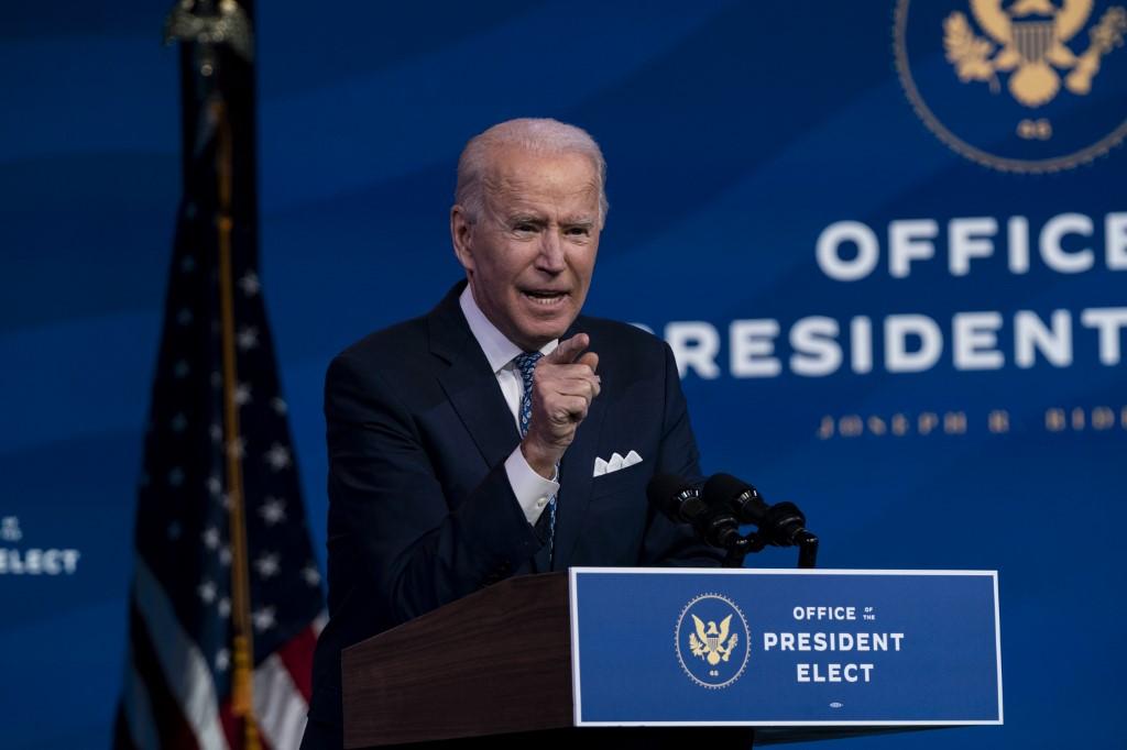 Joe Biden en Estados Unidos