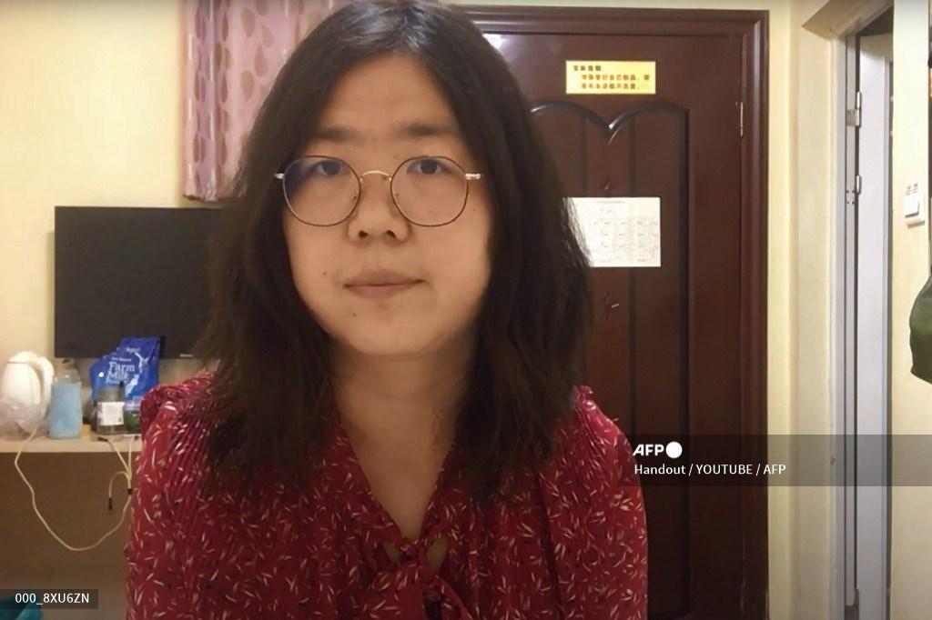 Zhang Zhan, periodista china condenada a prisión