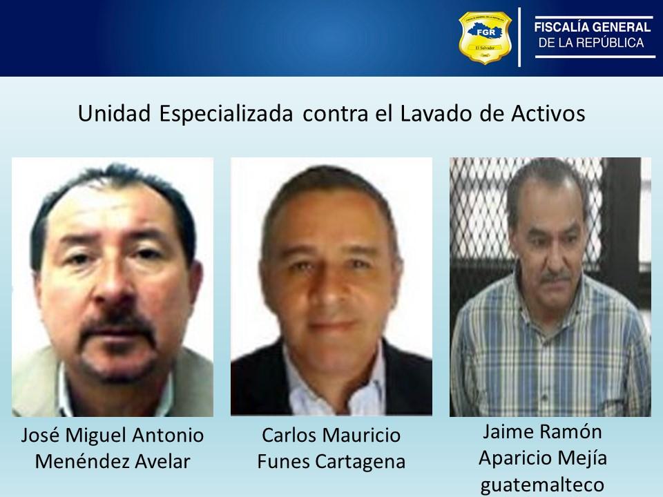 Jaime Aparicio Mejía implicado en caso en El Salvador