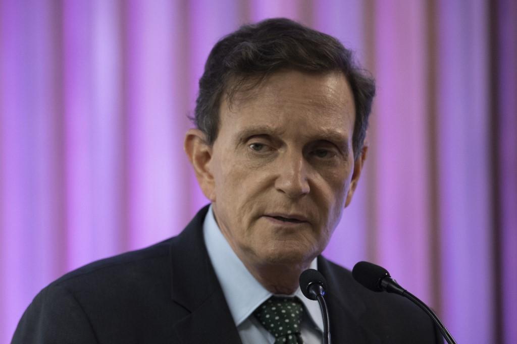 Marcelo Crivella, alcalde de Rio de Janeiro
