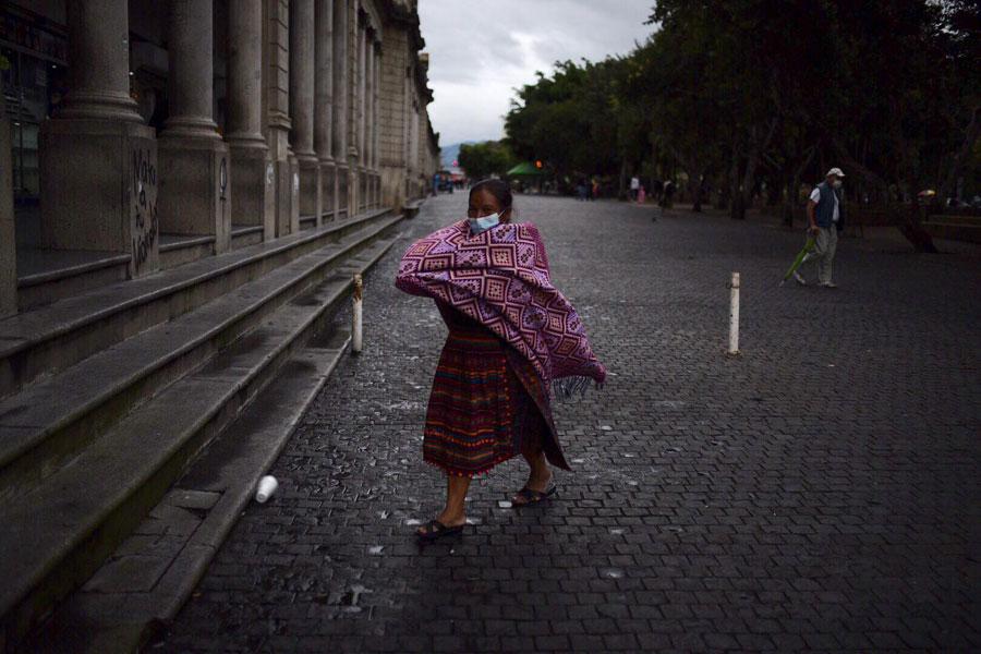 Frío en Ciudad de Guatemala