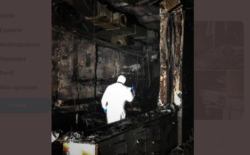 Incendio en hospital de Turquía