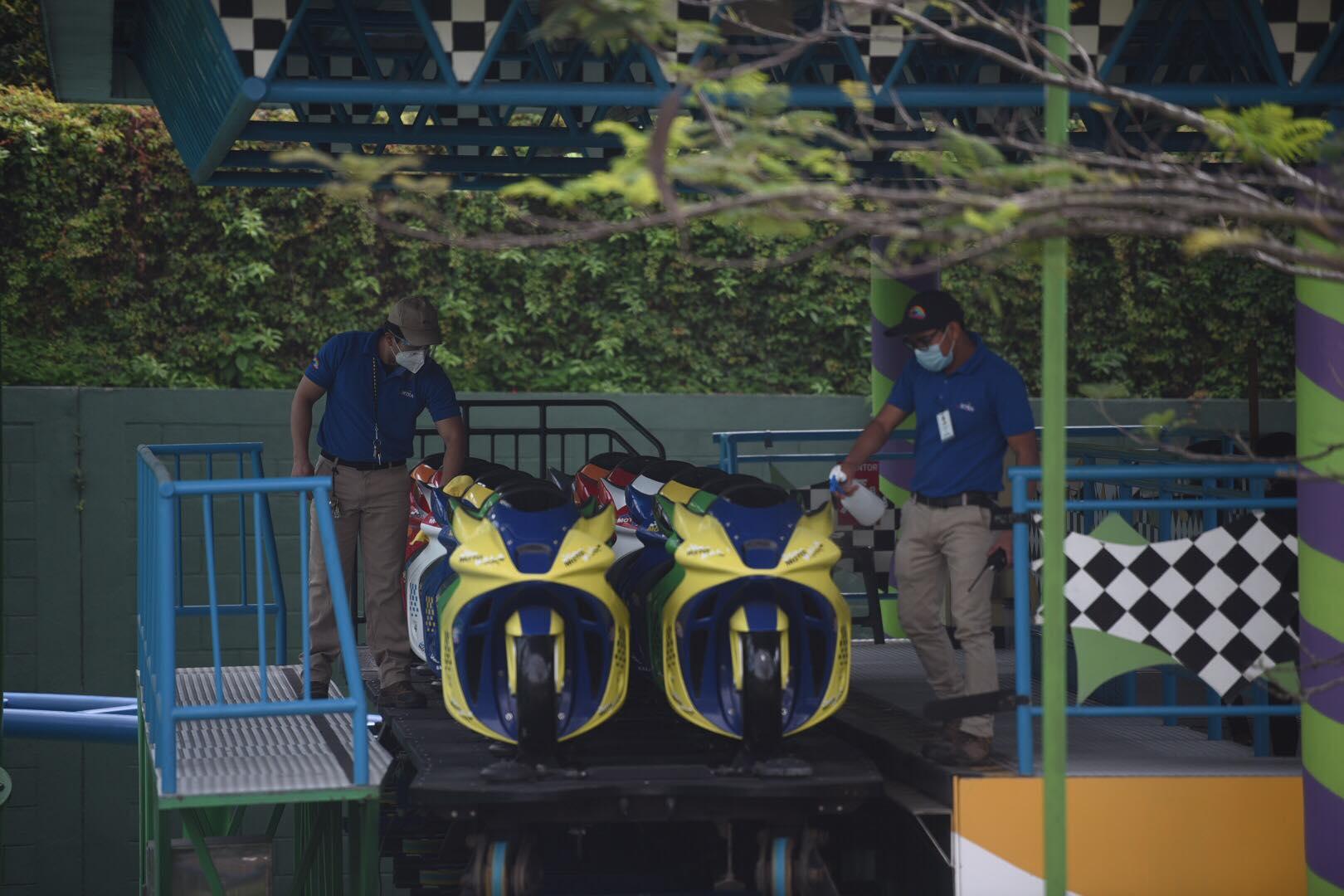 Irtra informa sobre reapertura de parques