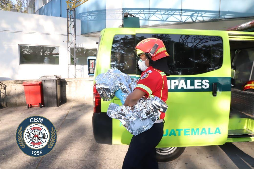 localizan a bebé abandonado en Mixco