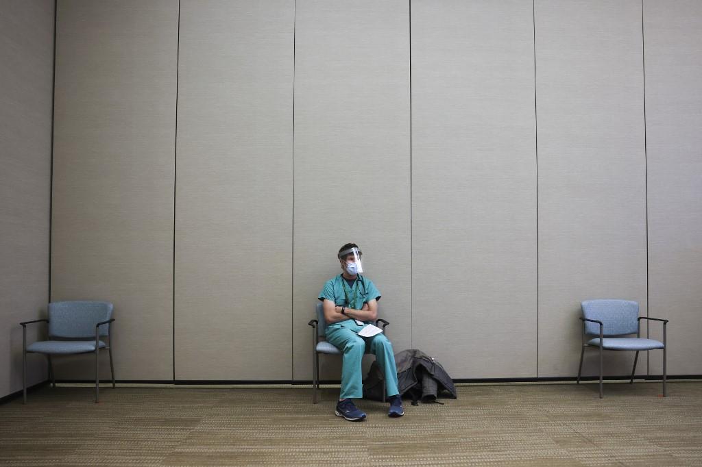 Médico ante Covid-19