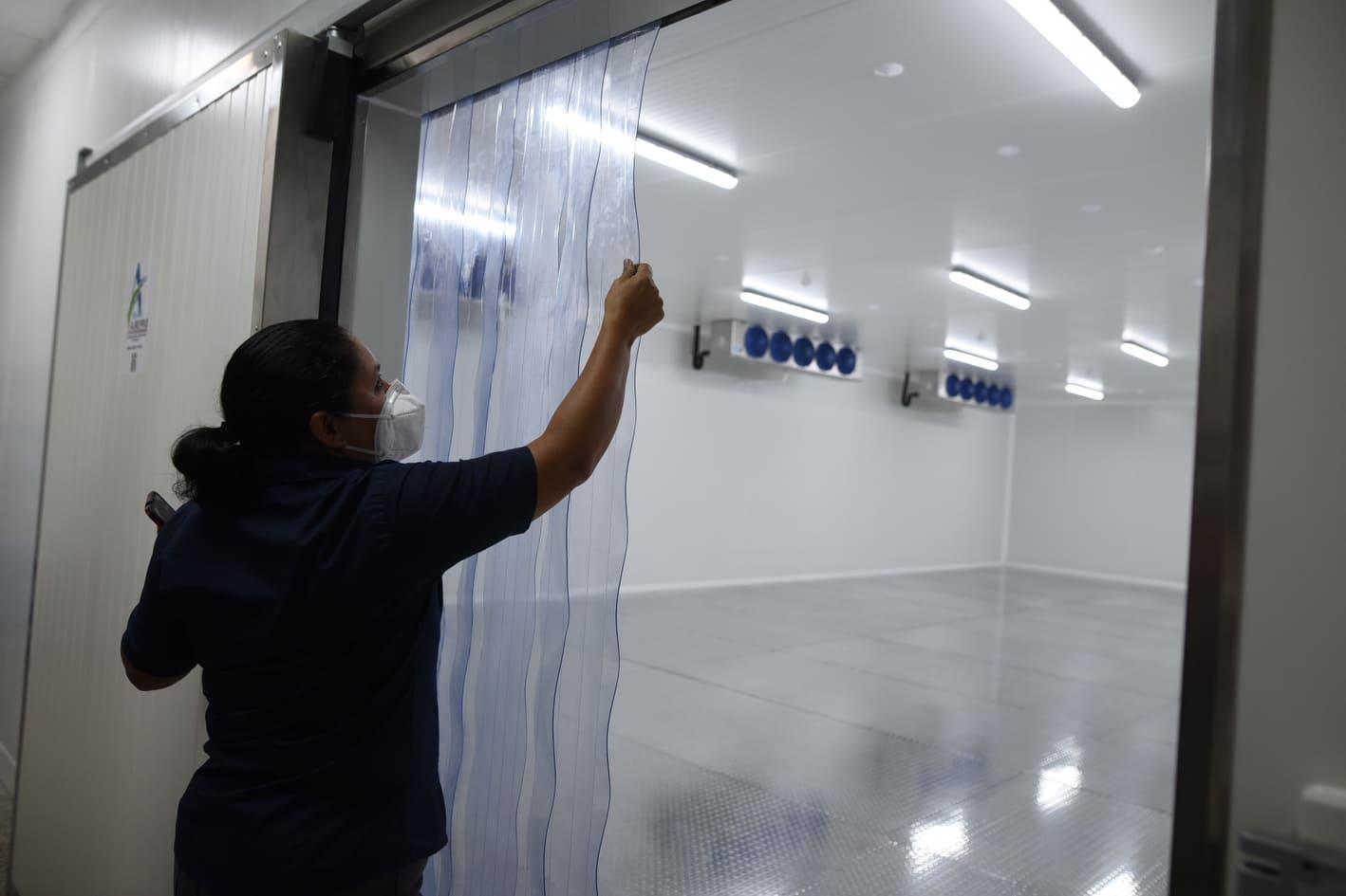 Ministerio de Salud inaugura cuarto frío para vacunas de Covid-19