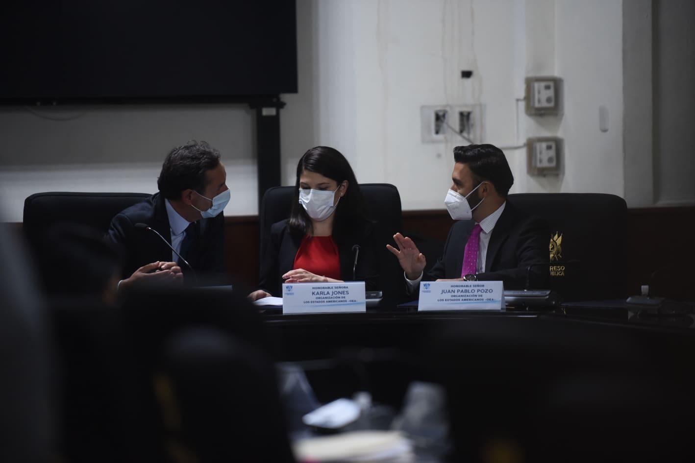 misión de la OEA se reúne con diputados