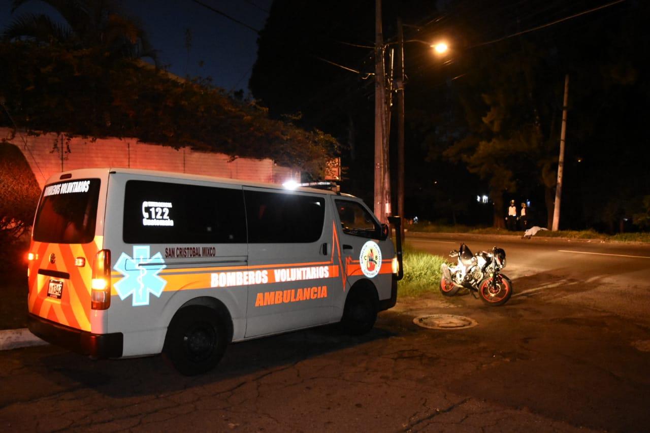 motorista muere en accidente en Mixco