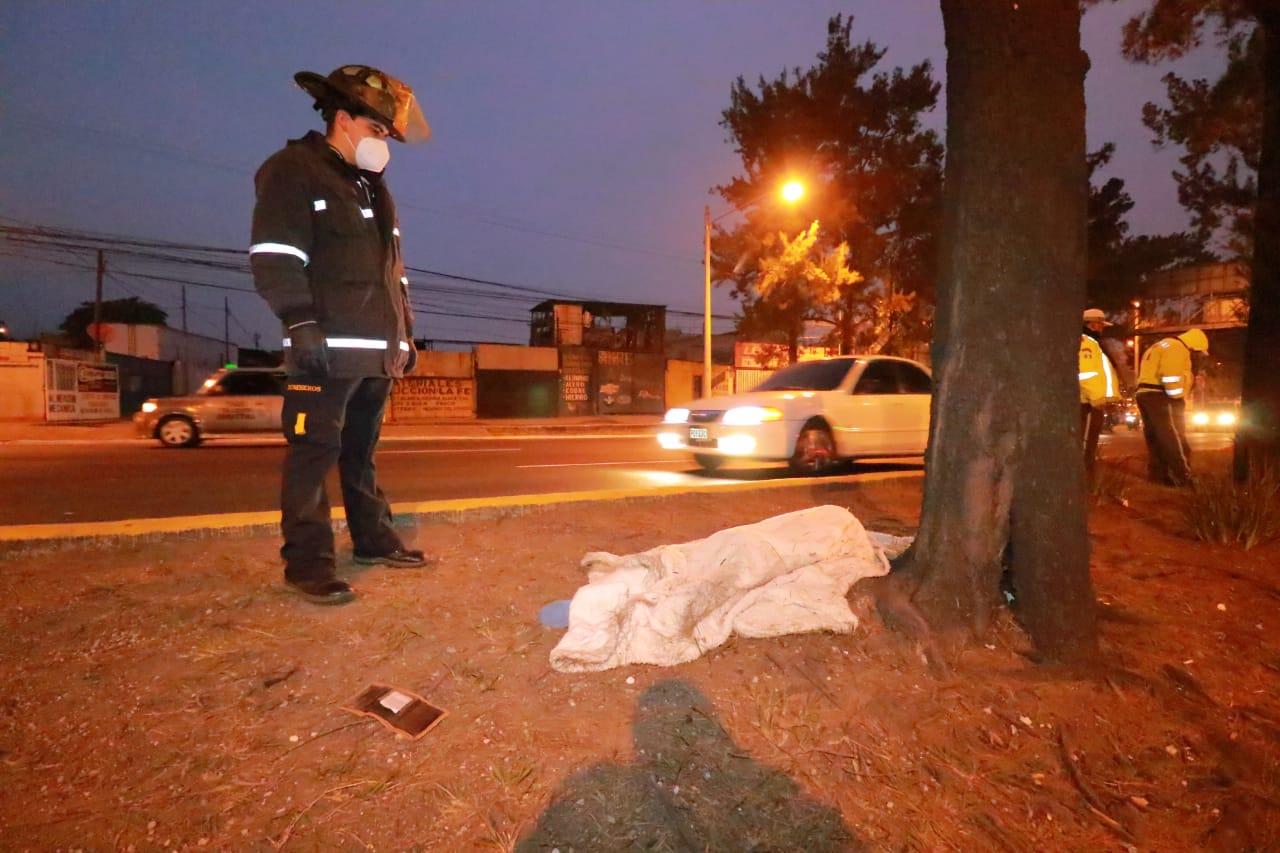mujer muere atropellada en zona 7