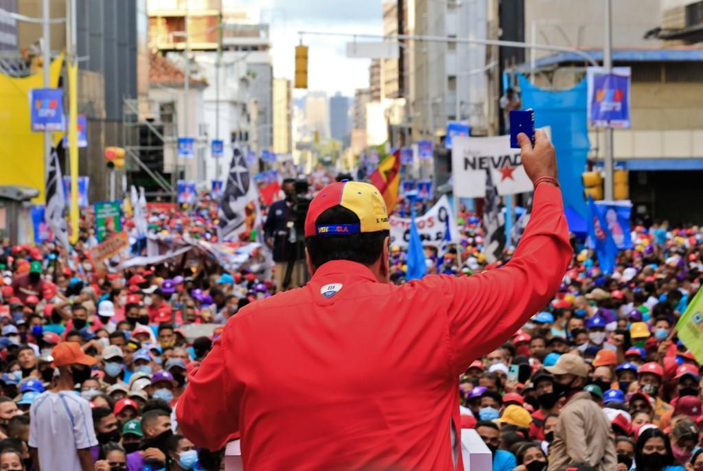 Nicolás Maduro gana las elecciones legislativas en Venezuela