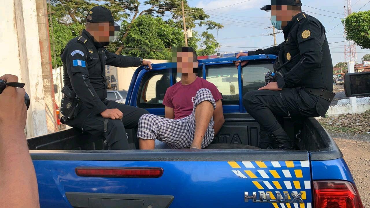 Presuntos asesinos de niña en Santa Lucía Cotzumalguapa