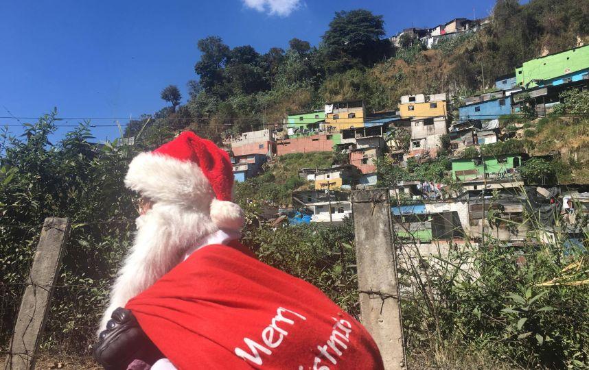 """""""Santa Claus de los Pobres"""""""
