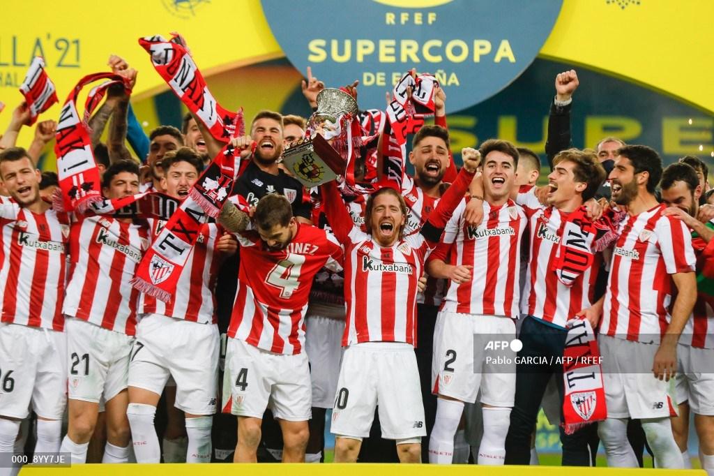 Athletic de Bilbao campeón de la Supercopa de España
