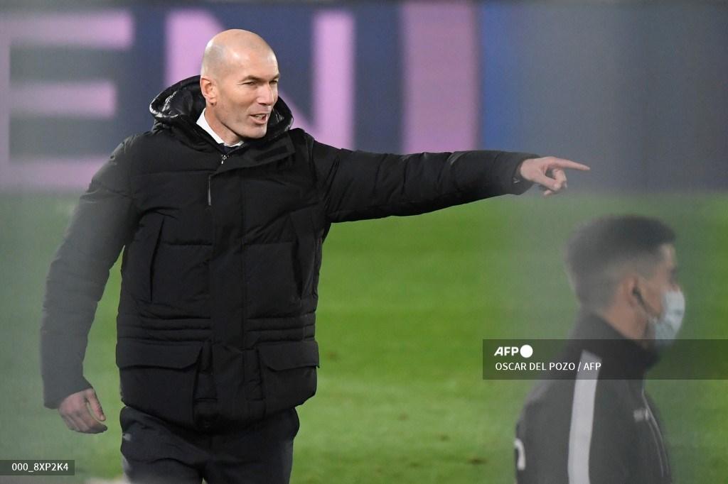 Lo que dijo Zidane tras la eliminación del Madrid
