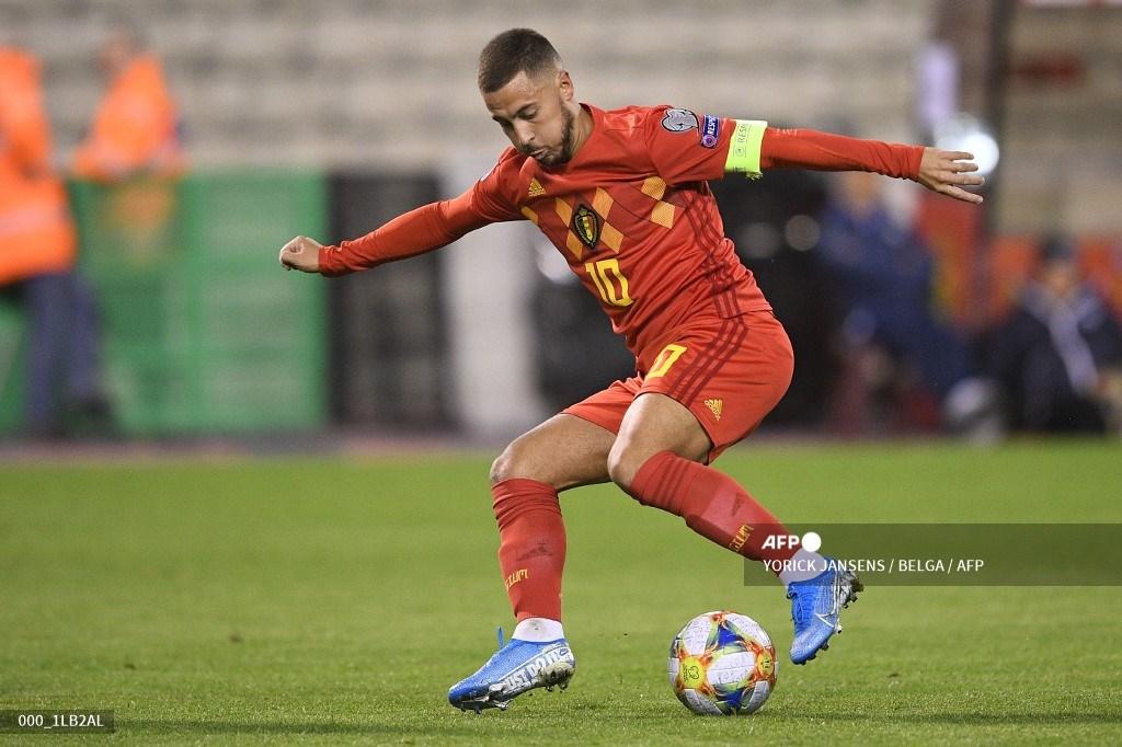 Eden Hazard nombrado jugador más emblemático en la historia de Bélgica