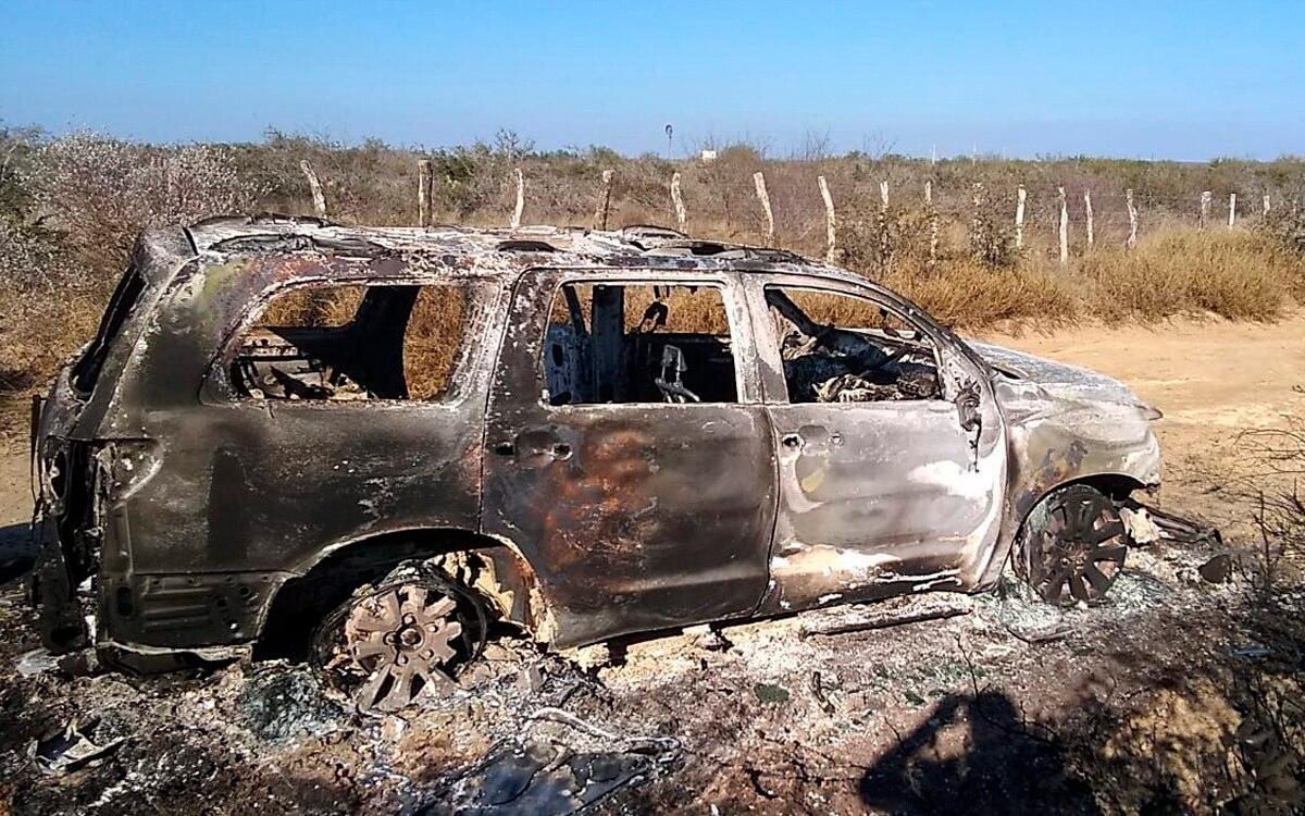 Localizan 19 cadáveres calcinados en Tamaulipas.