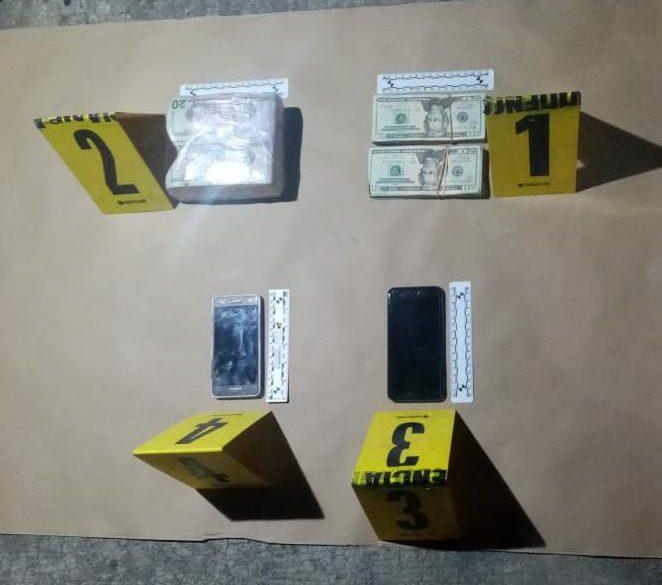PNC captura a dos por supuestamente cometer lavado de dinero.