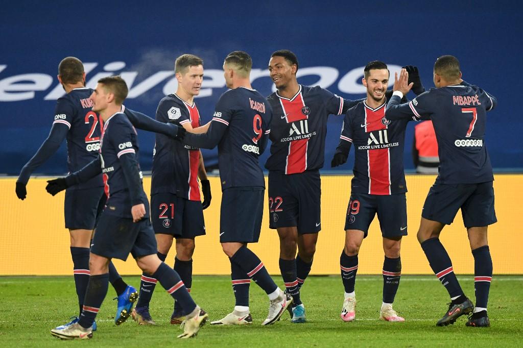 El PSG golea al Stade Brestois