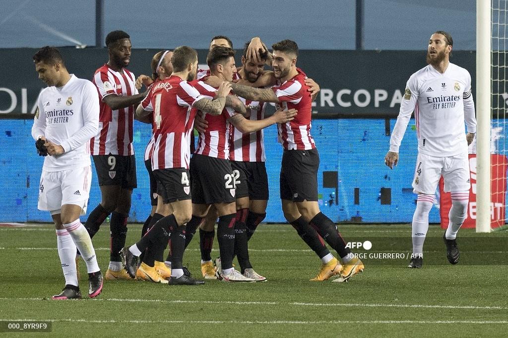 Triunfo del Athletic de Bilbao sobre el Madrid