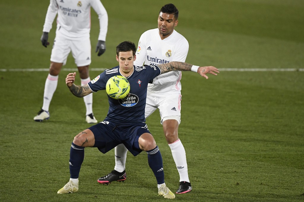 Real Madrid derrota al Celta