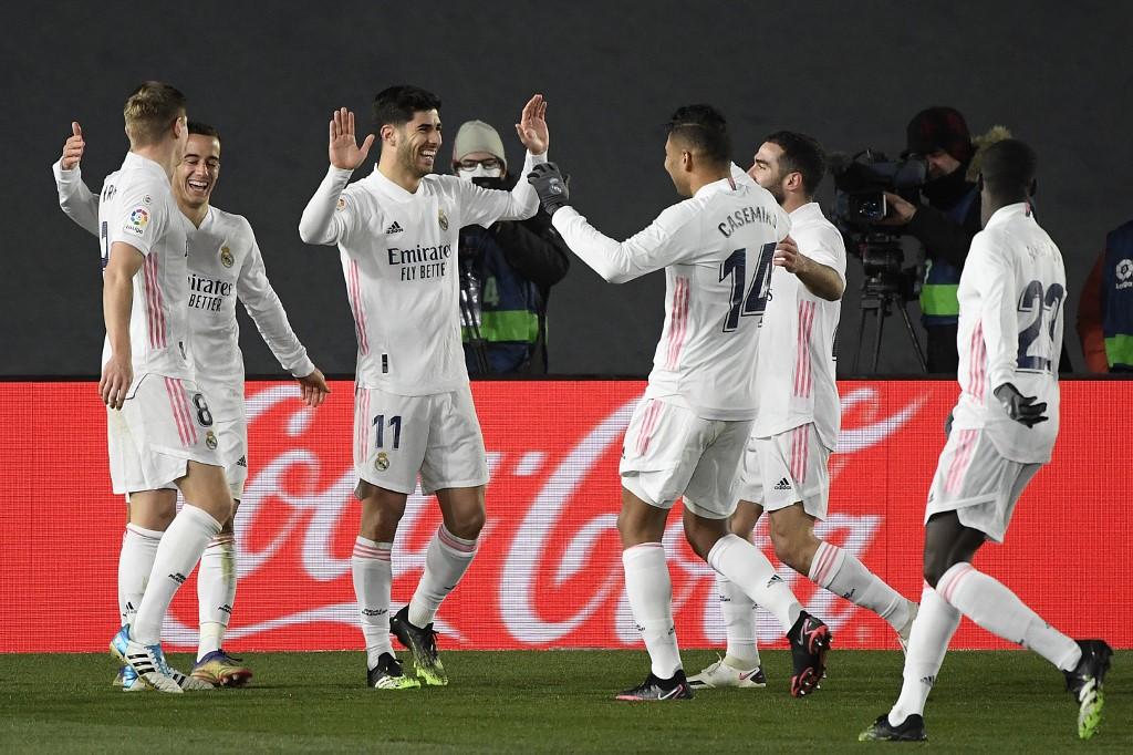 Triunfo del Real Madrid frente al Celta