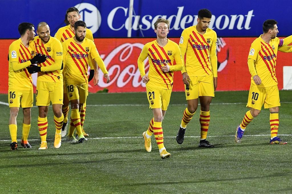Triunfo del Barcelona frente al Huesca