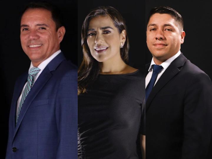 Los diputados Rudy Pereira, Patricia Sandoval y Keven Ligorría quedan fuera de FCN-Nación.