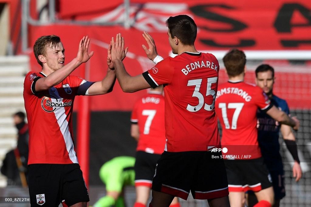 Southampton elimina al Arsenal de la FA Cup