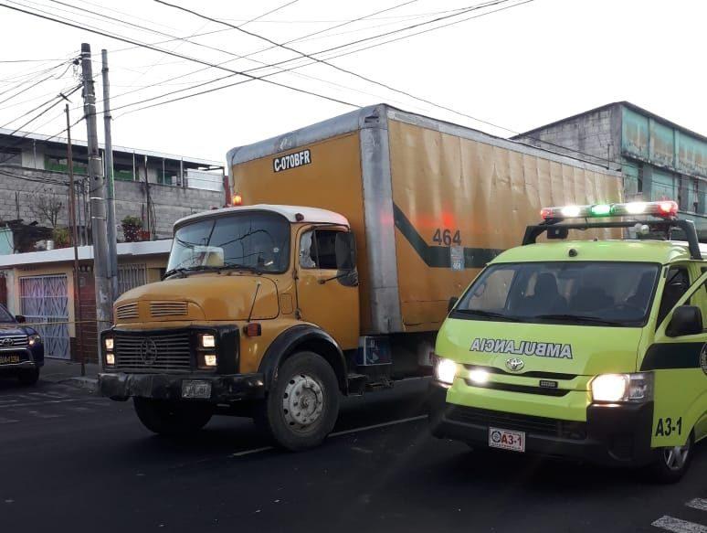 Disparan contra camión recolector de basura en zona 5