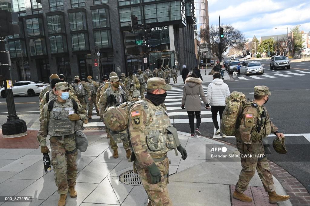 Guardia Nacional en Washington