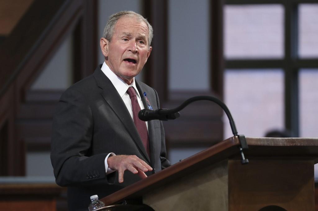 George Bush, expresidente de Estados Unidos