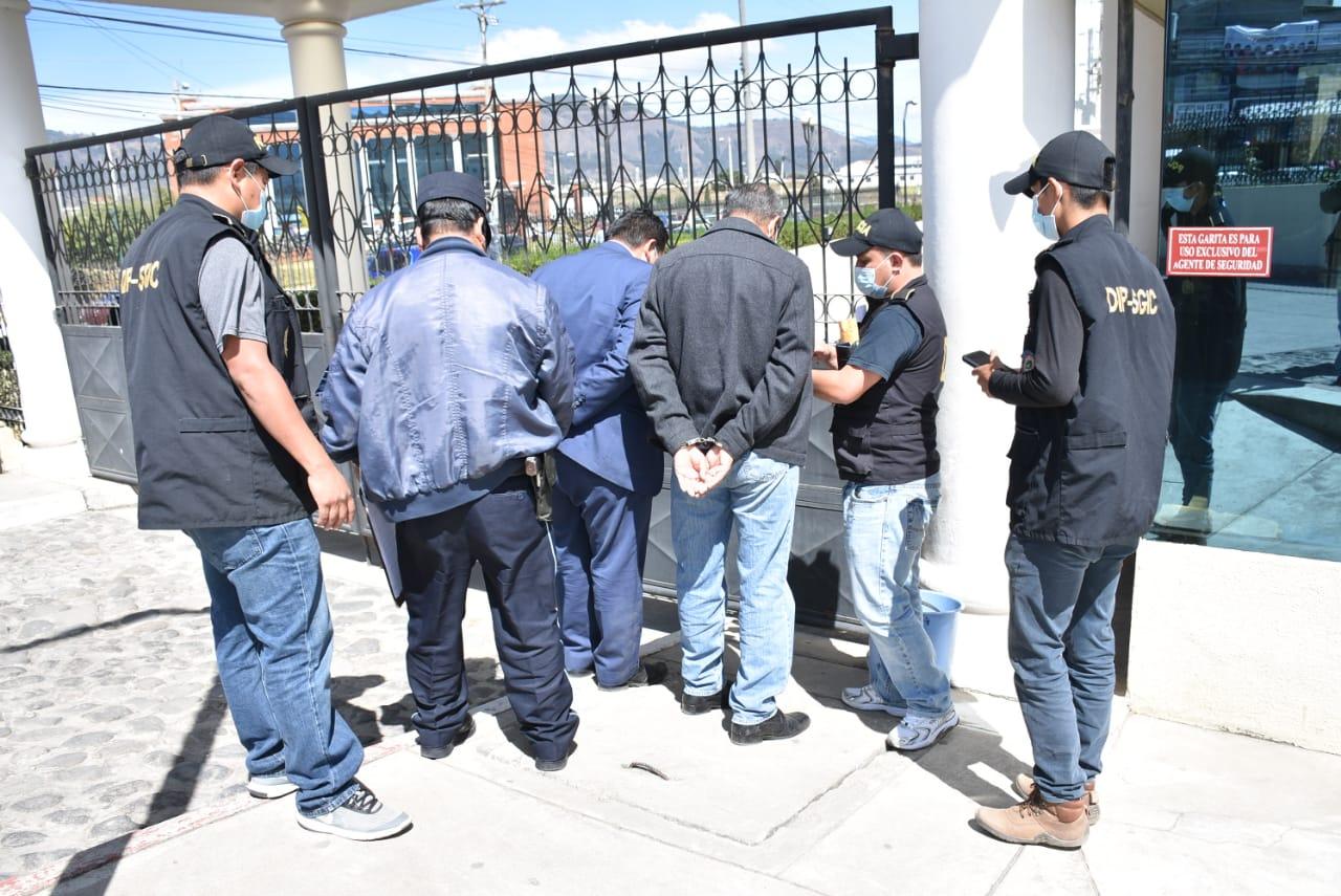 Capturan a empleados de la Empresa Eléctrica Municipal de Quetzaltenango