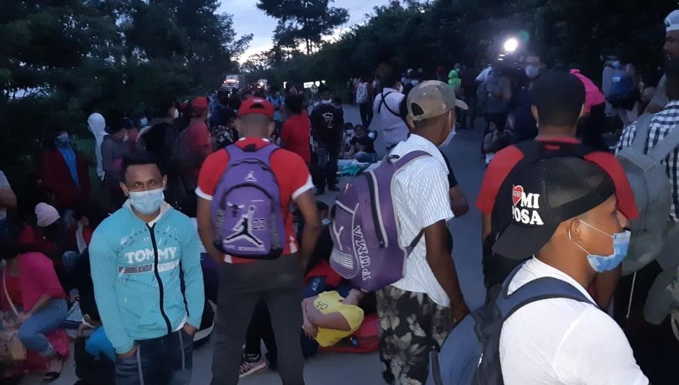 Guatemala en guardia por caravana de migrantes hondureños
