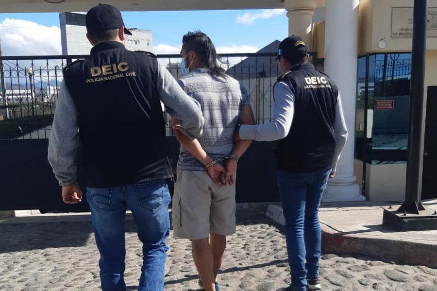 Detenido por disturbios en elecciones de 2019