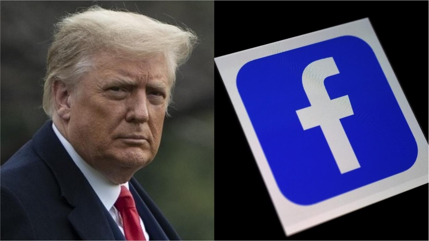 Facebook bloquea por tiempo indefinido la cuenta de Trump