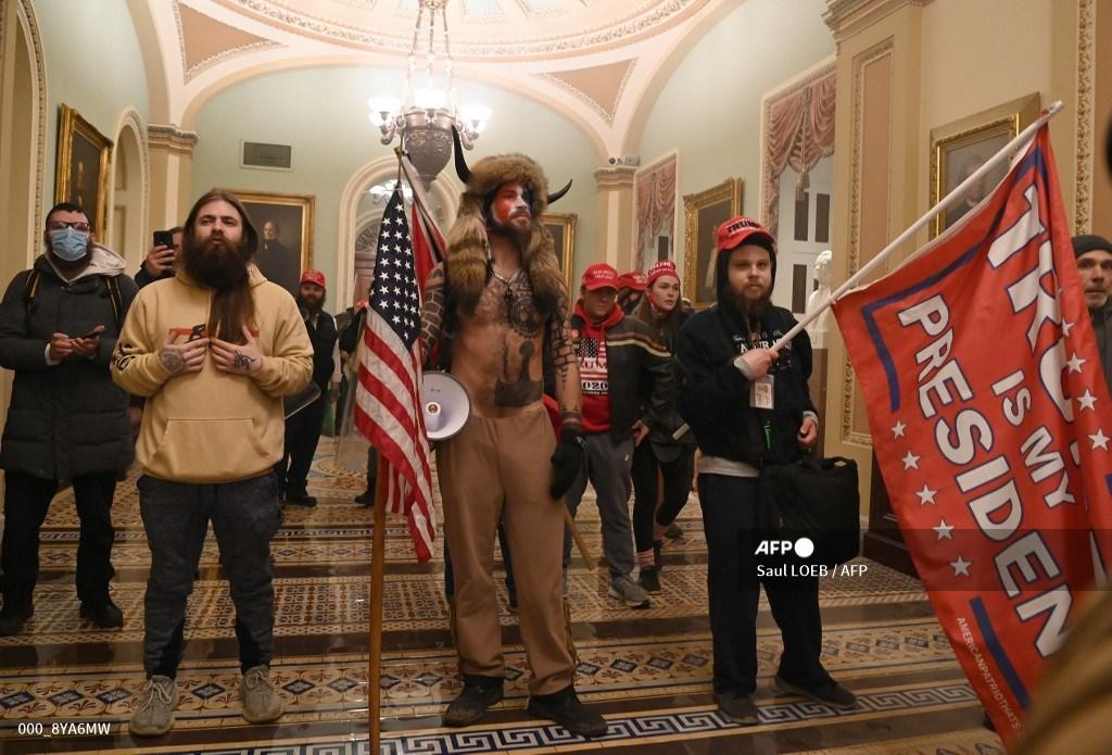 Protestas en el Capitolio, en Washington