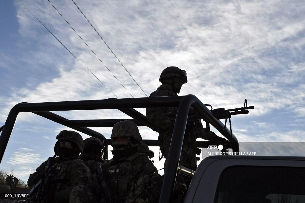 Ejército y policía de México